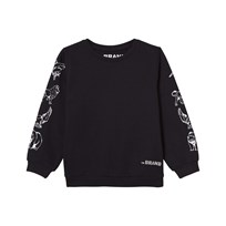 The BRAND Animal Sweater Black Black