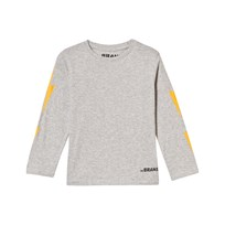 The BRAND Boom Long Tee Grey Melange Black