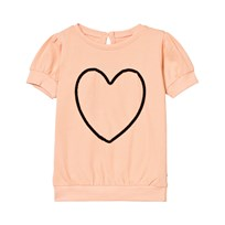 The BRAND Heart Top Peach Oransje