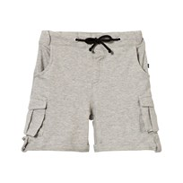 The BRAND Khaki Shorts Grey Melange Black