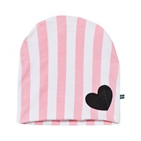 The BRAND Hat Pink Stripe Pink
