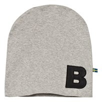 The BRAND Hat Grey Melange Black