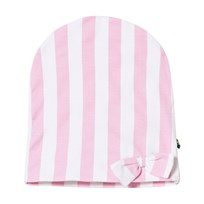 The BRAND Bow Hat Pink Stripe Pink