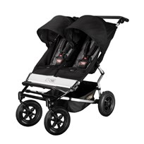 Duet Double Buggy Black/Flint