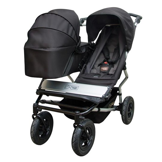 Mountain Buggy Duet Carrycot Black Multi