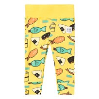 Indikidual Yellow Sushi Leggings SUSHI