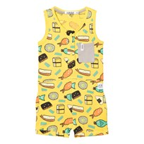 Indikidual Yellow Dojo Romper Yellow