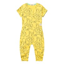 Indikidual Yellow Fugu Jumpsuit Yellow