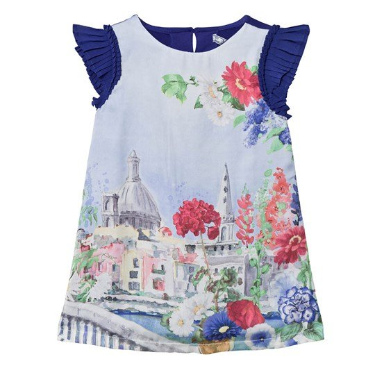 Mayoral Navy Venice Print Dress 50