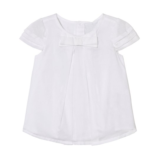 Mayoral White Bow Blouse 60