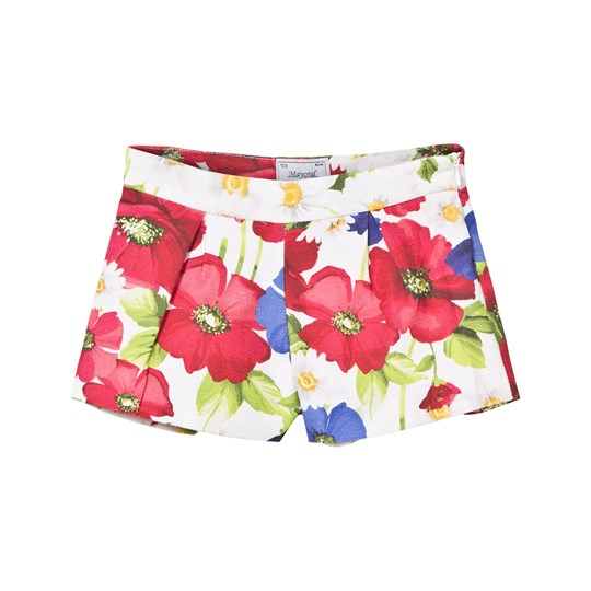 Mayoral Multi Floral Shorts 95
