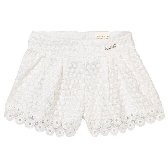 Mayoral Spets Shorts Off White 41