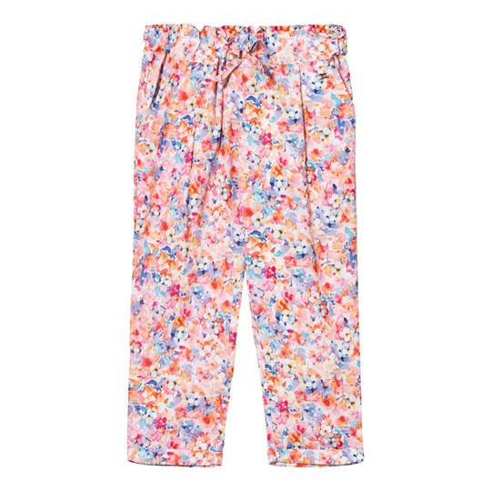 Mayoral Multi Floral Relaxed Trousers 82