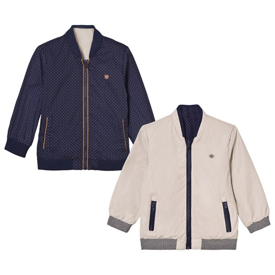 Mayoral Navy Reversible into Beige Bomber Jacket 70
