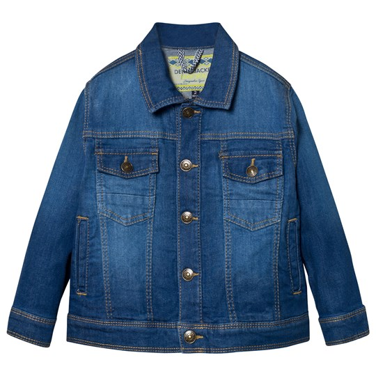 Mayoral Blue Mid Wash Denim Jacket 5