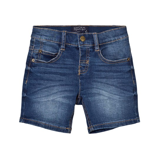 Mayoral Blue Mid Wash Denim Shorts 20