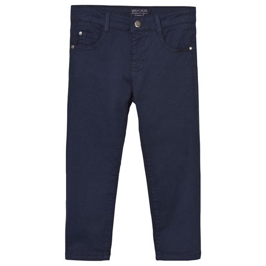 Mayoral Navy 5 Pocket Trousers 16