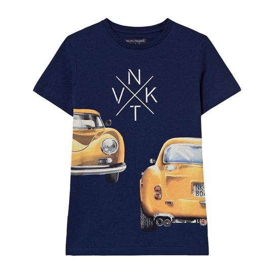 Mayoral Navy Car Print Tee 29
