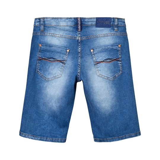 Mayoral Blue Dark Wash Denim Shorts 10