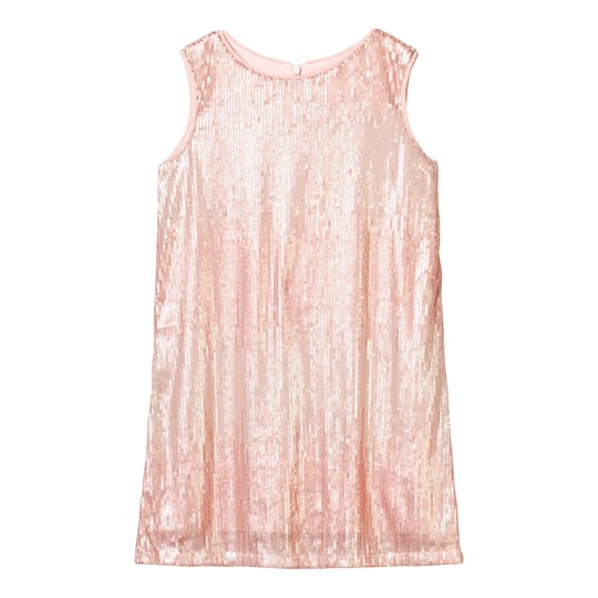 Mayoral Pink Sequin Pattern Sleeveless Dress 9