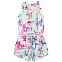 Mayoral Multi Print Belted Playsuit 81