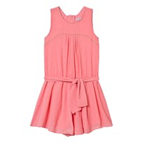 Mayoral Stud Detail Belted Playsuit Rosa 76