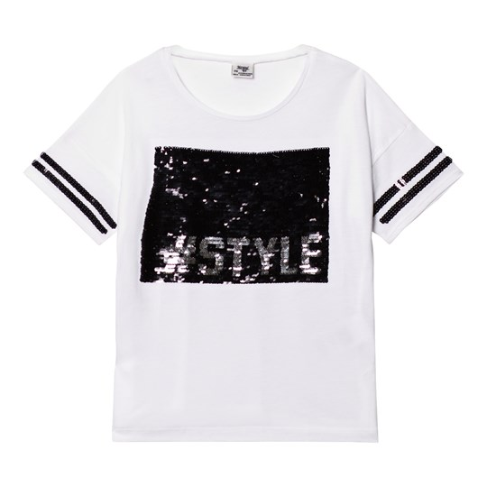 Mayoral White and Black Sequin #Style Tee 82