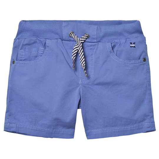 Mayoral Pale Blue Pull Up Shorts 67