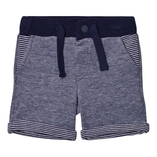 Mayoral Navy Knitted Sweat Shorts 74