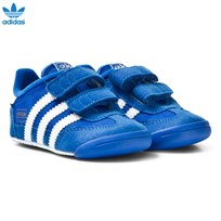 Adidas Originals Blue Dragon Crib Trainers Blue