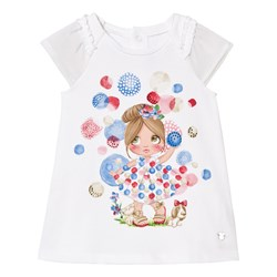 Mayoral Girl and Bubble Print Dress