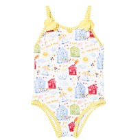 Mayoral Yellow House Print Swimsuit 26