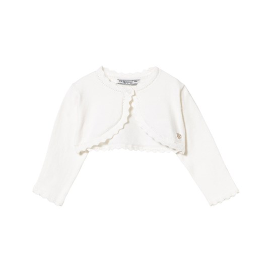 Mayoral Off-White Bolero 80