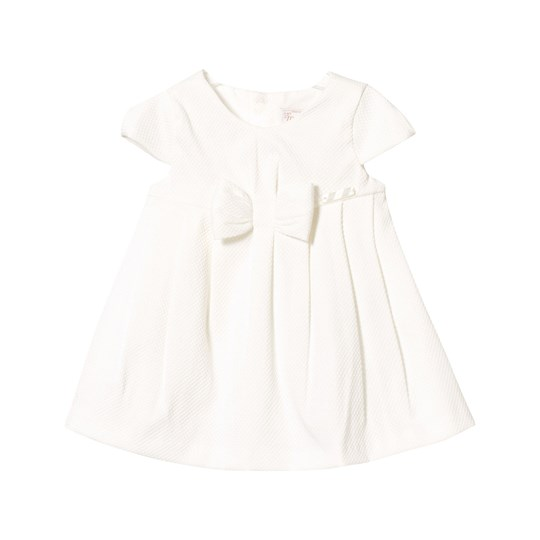 Mayoral Off-White Bow Front Dress 63