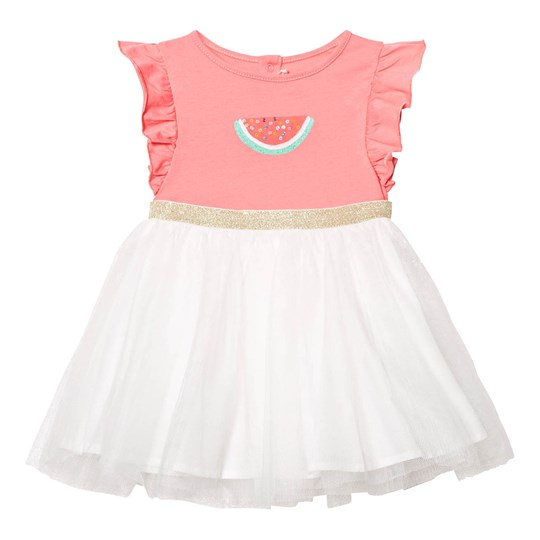 Billieblush Pink Watermelon Print Tutu Dress 472
