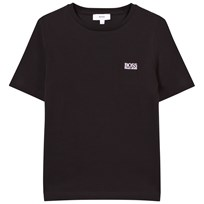 BOSS Branded Tee Black with Small Logo 09B