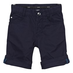 BOSS Navy Chino Shorts