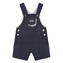 BOSS Navy Cotton Dungarees 849