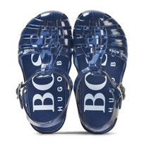 BOSS Navy Jelly Shoes 804