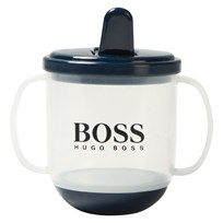 BOSS Plastic Branded Sippy Mugg Vit 849