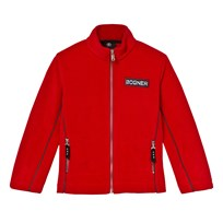 Bogner Red Alteo Polar Fleece Full Zip Jacket 557 RED