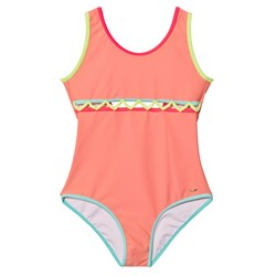 Chloé Pink Cut Out Front Swimsuit