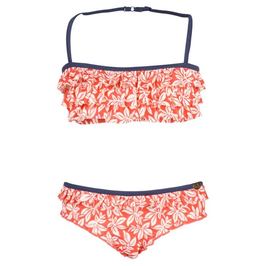 Scotch R'belle Bikini Red Flower Red