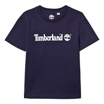 Timberland Navy Branded Tee 85T