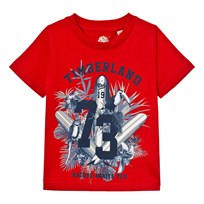 Timberland Surf Board Graphic T-shirt Röd 97E