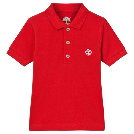 Timberland Red Classic Branded Polo 97E