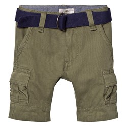 Timberland Khaki Cargo Shorts with Belt