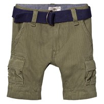 Timberland Khaki Cargo Shorts with Belt 64B