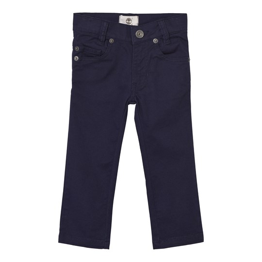 Timberland Navy Slim Fit Cotton Twill Trousers 85T