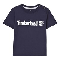 Timberland Classic Navy Branded Tee 85T